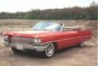red convertible cadillac to be auctioned