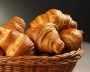 PROPOSED delicious croissants and pastries from FRANCE