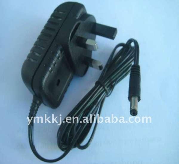 9v 1a high quailty uk wall type adapter