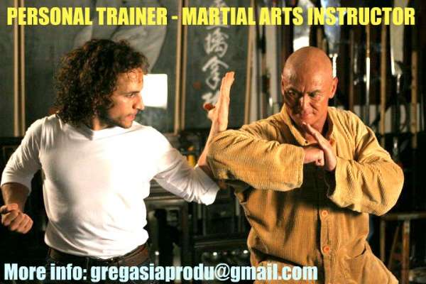 Personal fitness trainer - martial arts instructor in shanghai