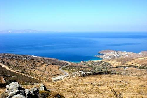 Land on greek island with building licence and plans