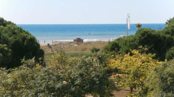 Ideal seafront apartment in castellfefels spain
