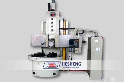 Cnc single column vertical lathe machine