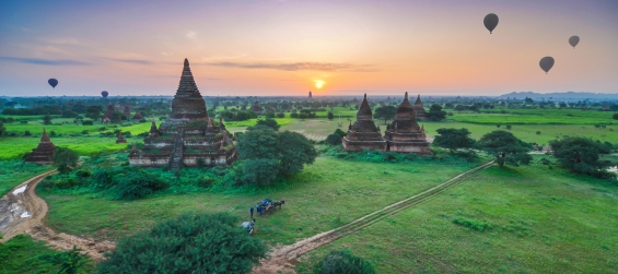Bagan city tour( green myanmar travel )