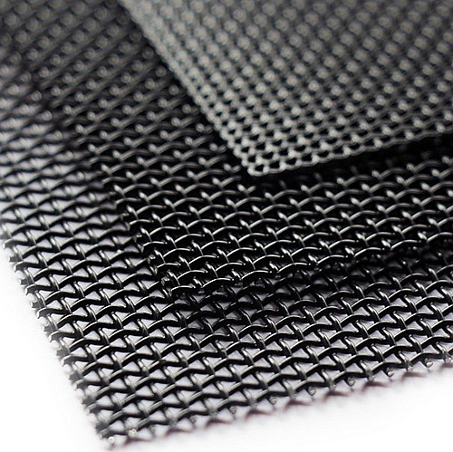 #10,#11,#12,#14 black powder coated stainless steel 316 security screen for window&door