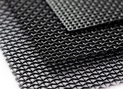 #10,#11,#12,#14 Black Powder Coated Stainless Steel 316 Security Screen For Window&Door