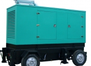 Effficient electricity truck mobile diesel generator for emergency energy