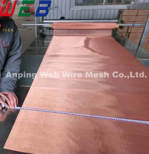 (emi shielding) electromagnetic field shielding copper mesh fabrics