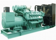 High end efficiency and long-term reliability diesel generators for Military use