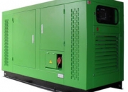 Silent container diesel generator groups