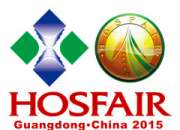 Lifan Furniture Co.,Ltd Attends HOSFAIR Guangdong 2015