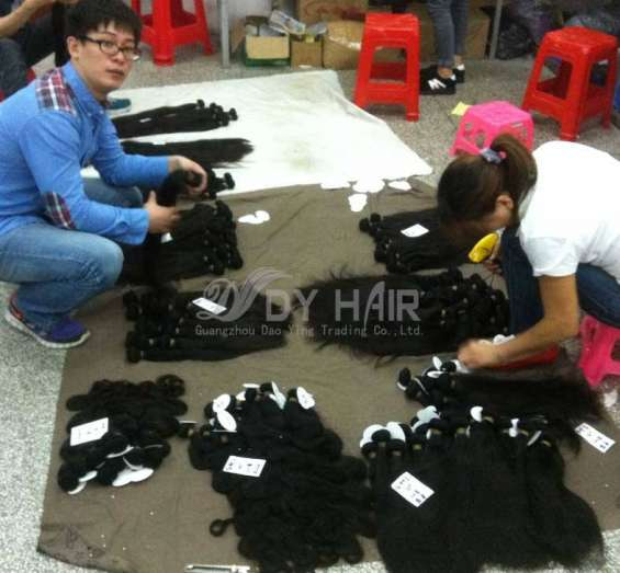 Buy human hair lace front wigs by dyhair777
