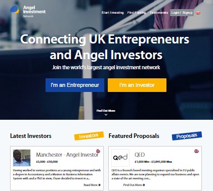 Angel investment network || best investment network in uk.