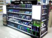 Makeup Display Shelf/Cosmetic shelf