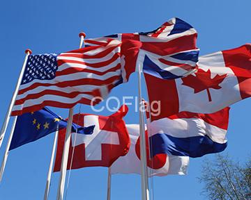 Polyester flag, china flag supplier